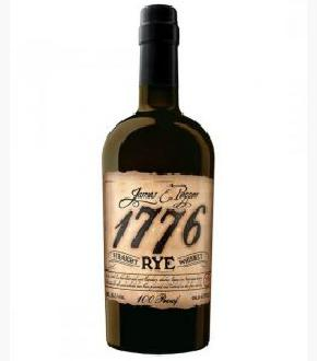 James E. Pepper 1776 100 Proof Straight Rye