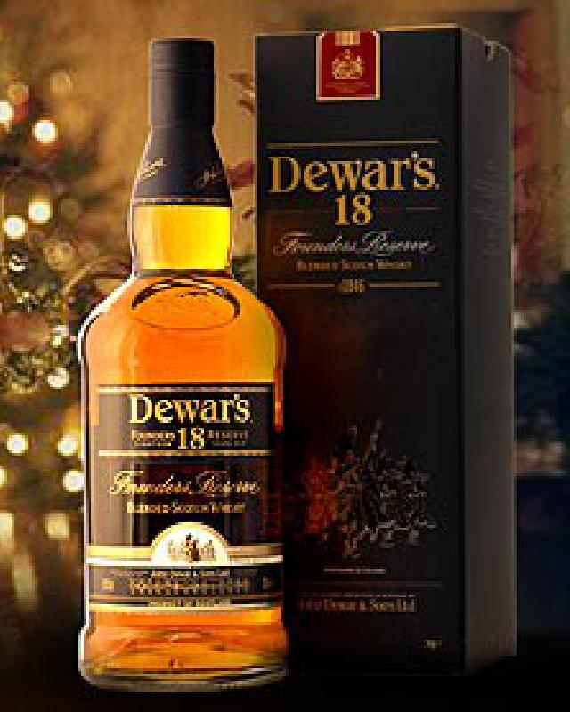Dewar's 18 Year Old The Vintage Blended Scotch Whisky