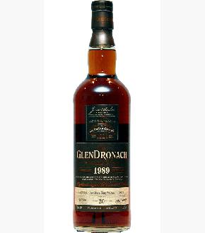 GlenDronach 1989 Single Cask #3833 Pedro Ximenez Cask 20 Year Old Single Malt Scotch Whisky