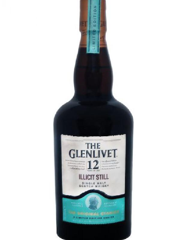 Glenlivet 12 Year Old Illicit Still Single Malt Scotch Whisky