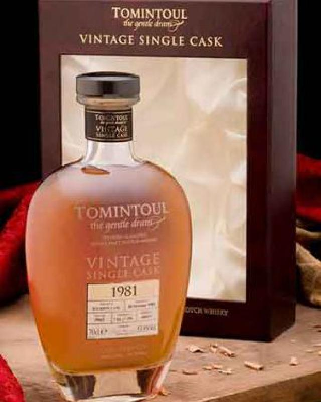 Tomintoul 1981 Single Cask 32 Cask Strength