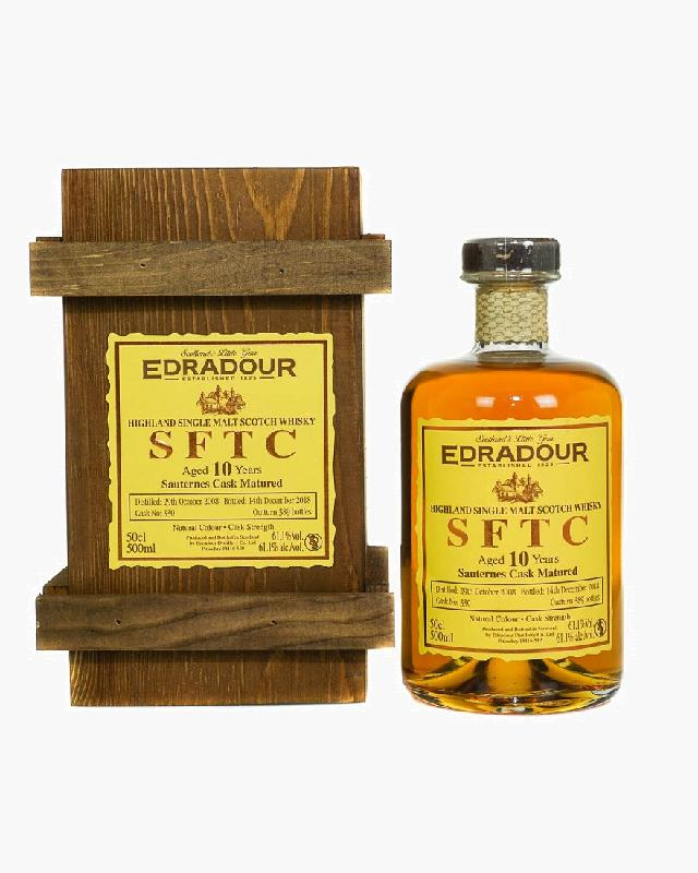 Edradour 2008 SFTC 10 Single Cask #330 (500ml)