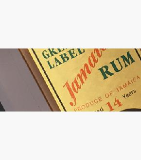 Cadenhead's 2002 Green Label 14 Year Old Year Old Jamaican Rum