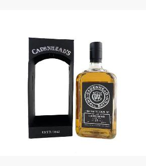 Cadenhead's 1997 Loch Lomond 21 Year Old Single Malt Scotch Whisky