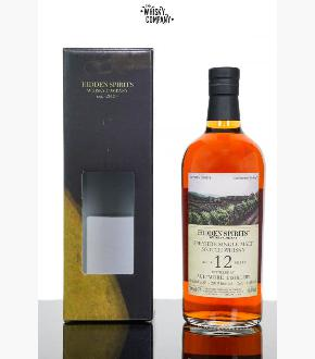 Hidden Spirits 2006 Aultmore 12 Year Old Single Cask #AU619 Single Malt Scotch Whisky