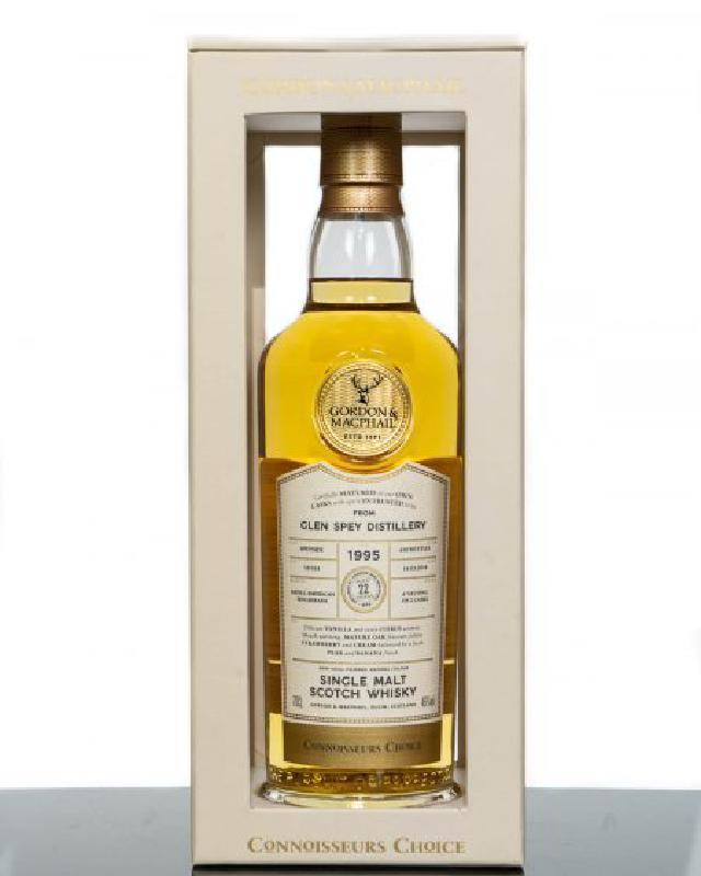 Gordon & MacPhail 1995 Glen Spey 22 Year Old  Single Malt Scotch Whisky