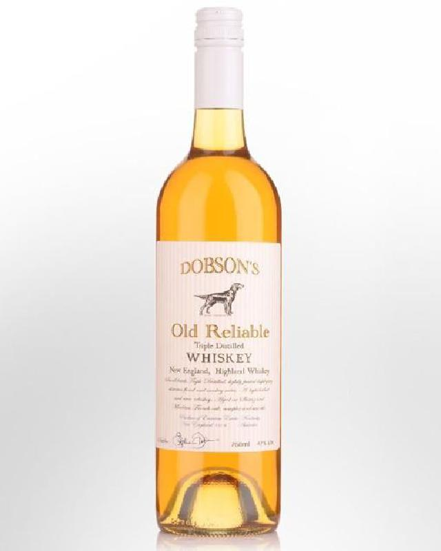 Dobson's Old Reliable Australian Single Malt Whisky