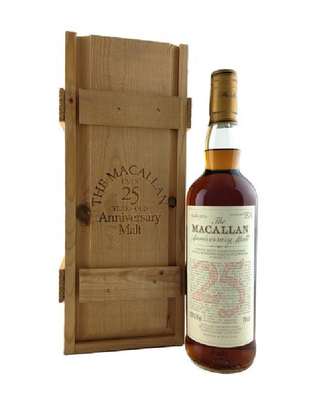 The Macallan 25 Anniversary Malt Single Malt Scotch Whisky