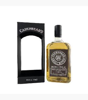 Cadenhead's 2008 Dailuaine 10 Year Old Single Malt Scotch Whisky