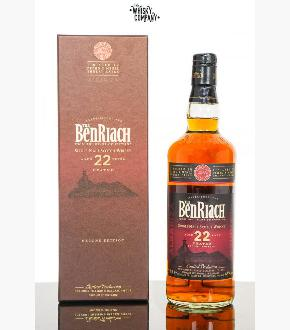 Benriach 22 Albariza Pedro Ximenez Wood Finish Second Edition