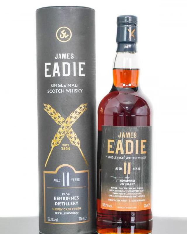 James Eadie 2009 Benrinnes 11 Year Old Single Cask #354550 Single Malt Scotch Whisky