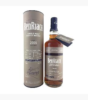 BenRiach 2005 Batch 15 Single Cask #2682 12