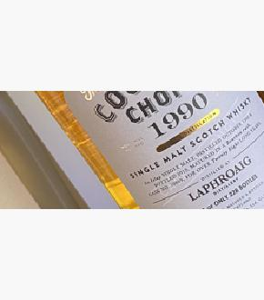 Cooper's Choice 1990 Laphroaig 28 Year Old Single Cask Single Malt Scotch Whisky