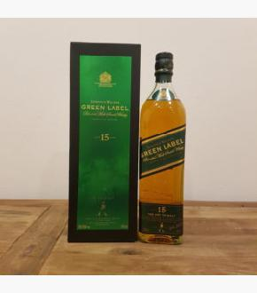 Johnnie Walker Green Label 15 Year Old Old Bottling Blended Malt Scotch Whisky