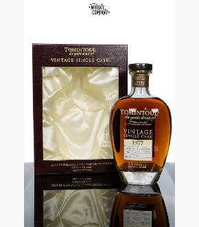Tomintoul 1977 Single Cask 38 Year Old Single Malt Scotch Whisky