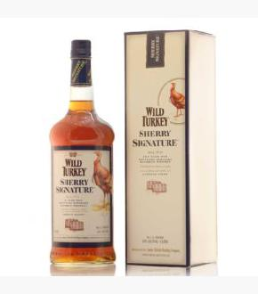 Wild Turkey 10 Sherry Signature Bourbon