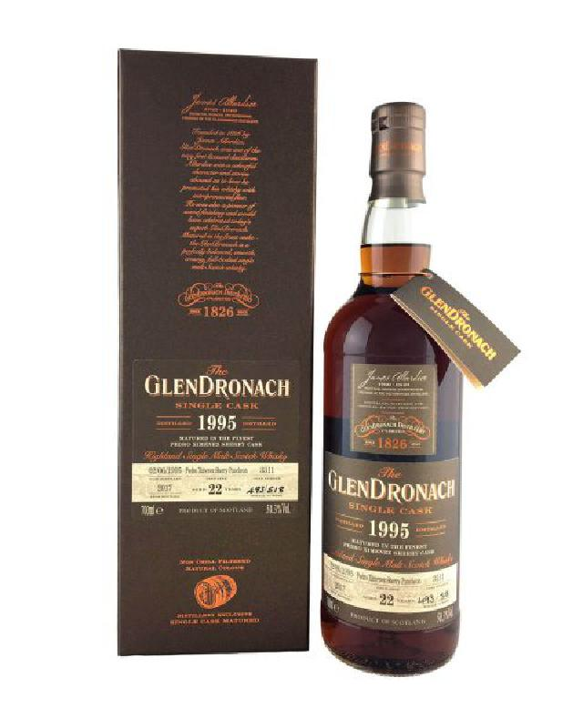 GlenDronach 1995 Single Cask #3311 Pedro Ximenez Sherry Puncheon 22