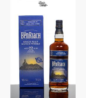 BenRiach 22 Moscatel Wood Finish