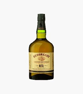 Redbreast 15 Single Grain Irish Whiskey