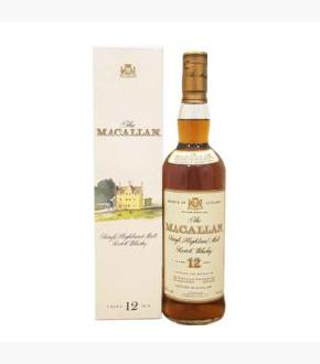 The Macallan 12 Early 1990s bottling