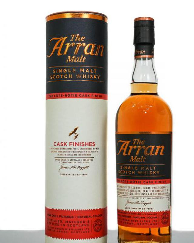 Arran Cote Rotie Cask Finish