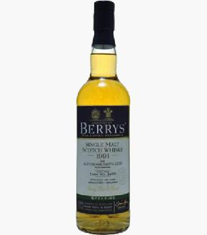 Berry Brothers & Rudd 1991 Auchroisk 21 Year Old Single Cask #7476 Single Malt Scotch Whisky