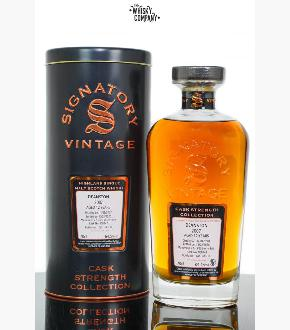 Signatory Vintage 2007 Deanston 12 Year Old Single Cask #900142 Single Malt Scotch Whisky