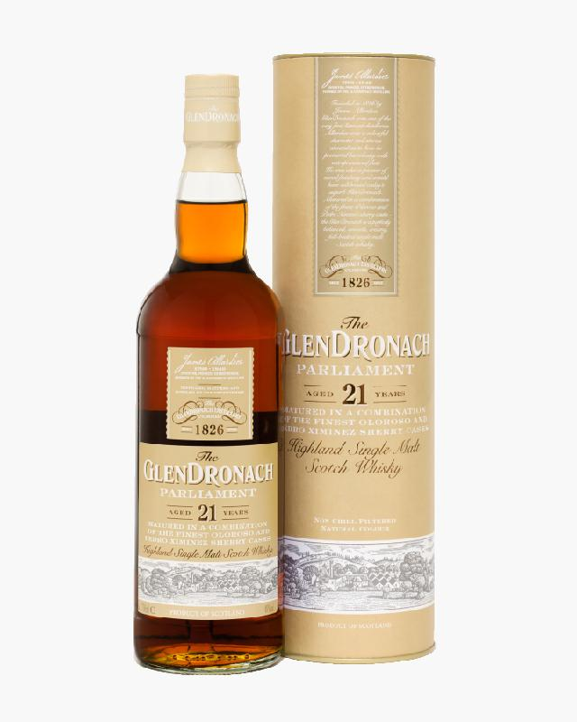 GlenDronach 21 Year Old Parliament Single Malt Scotch Whisky