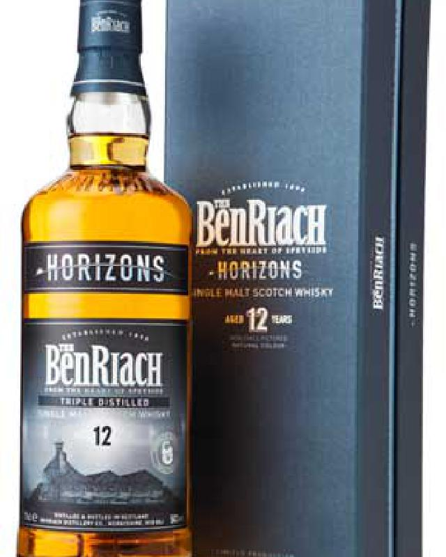BenRiach 12 Year Old Horizons Single Malt Scotch Whisky