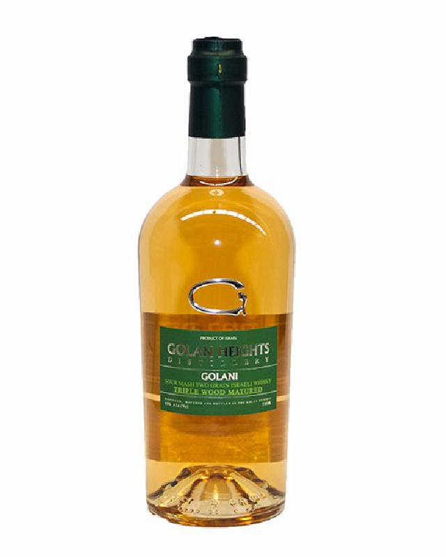 Golani Heights Sour Mash Two Grain Triple Wood Matured