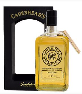 Cadenhead's 1987 Caledonian 28 Year Old Single Cask