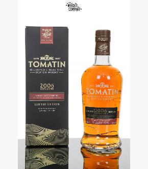 Tomatin 2006 Amontillado Sherry Finish 12