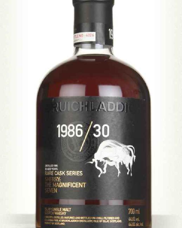Bruichladdich 1986 The Magnificent Seven 30