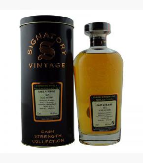 Signatory Vintage 1975 Rare Ayrshire 36 Year Old Single Malt Scotch Whisky