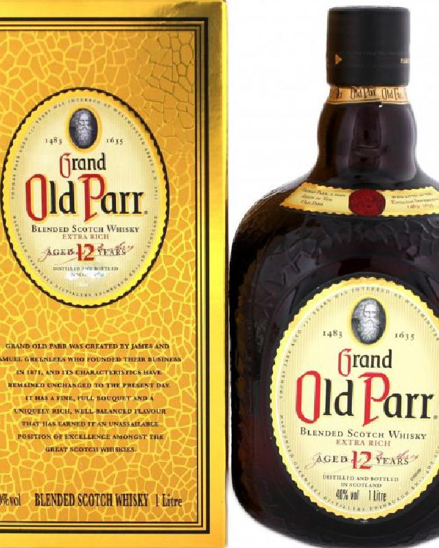 Old Parr 12(1000ml) Blended Scotch Whisky (1000ml)