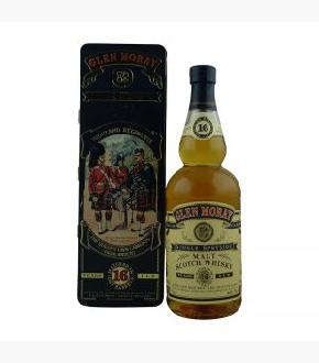 Glen Moray 16 Year Old Queen's Own Cameron Highlanders Single Malt Scotch Whisky