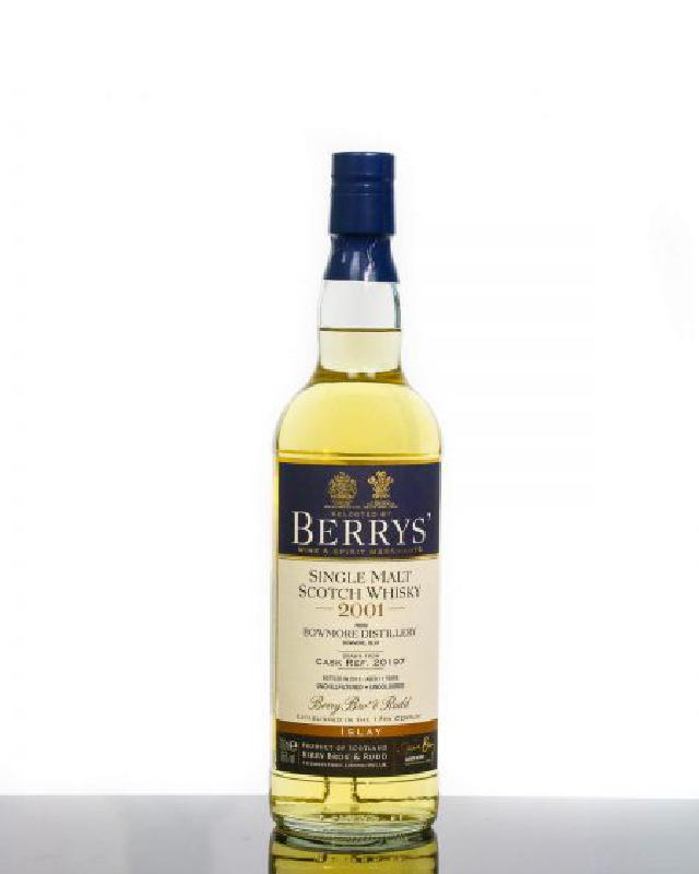 Berry Brothers & Rudd 2001 Bowmore 11