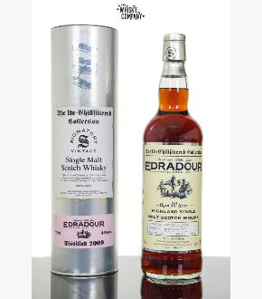 Signatory Vintage 2009 Edradour 10 Year Old Single Cask #14 Single Malt Scotch Whisky