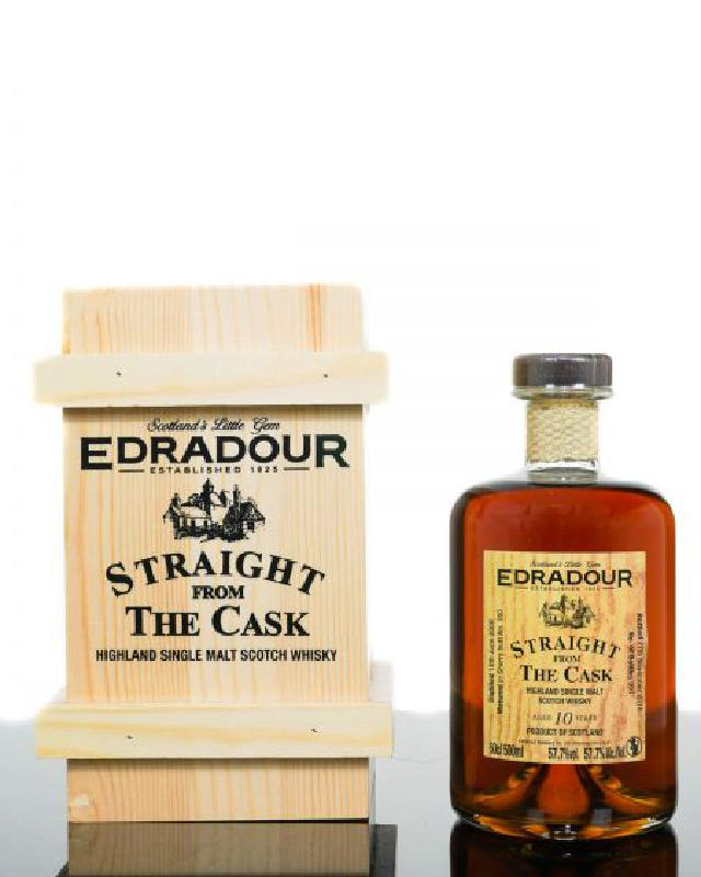 Edradour 10 Straight From The Cask Sherry Butt (500ml)