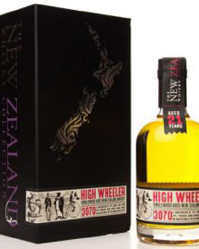 The New Zealand Whisky Collection High Wheeler 21 (350ml)