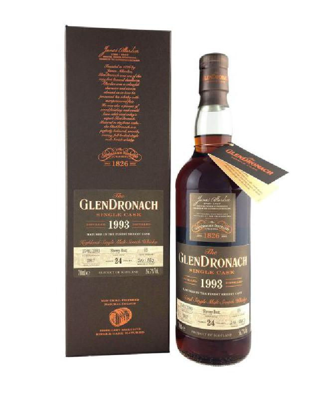 GlenDronach 1993 Single Cask #55 Sherry Butt 24