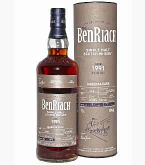BenRiach 1991 Single Cask #1850 27 Madeira Cask