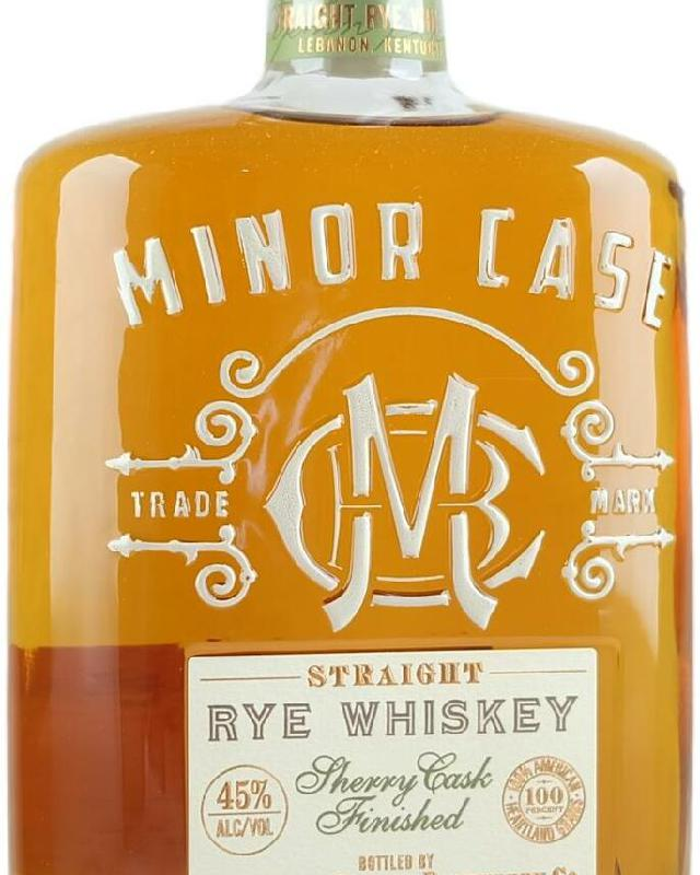 Minor Case Sherry Cask Finished Straight Rye Whiskey (750ml)