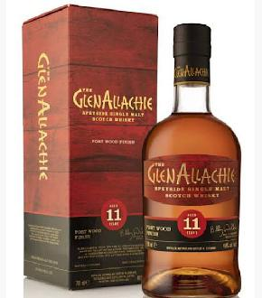 GlenAllachie 11 Year Old Port Wood Finish Single Malt Scotch Whisky