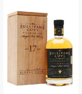 Sullivan's Cove American Oak 17 Single Cask #HH0339