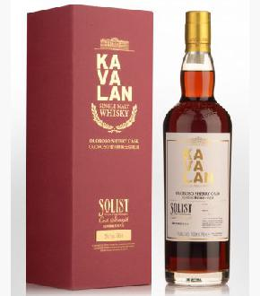 Kavalan Solist Oloroso Sherry Cask Matured