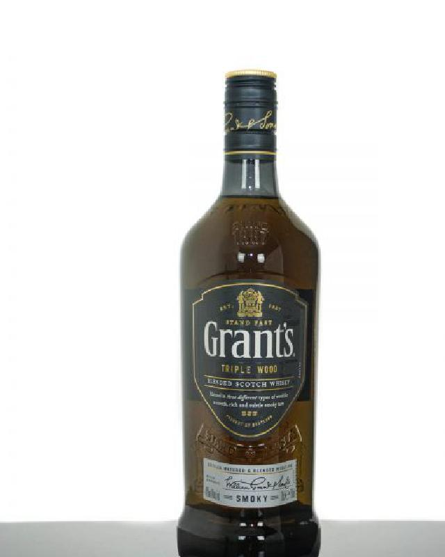 Grant's Triple Wood Smoky Blended Scotch Whisky