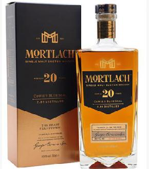 Mortlach 20 Year Old Single Malt Scotch Whisky
