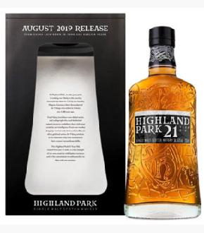 Highland Park 21 Year Old Single Malt Scotch Whisky