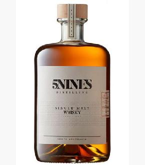 5Nines Bourbon Cask Lightly Peated Batch 001